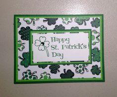 Handmade Happy St Patricks Day card by DesignedToAT on Etsy