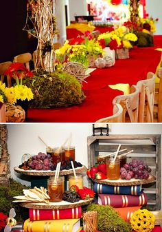 {Hundred Acre Wood} Winnie the Pooh Birthday Party // Hostess with the Mostess®