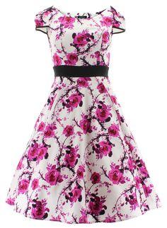 H&R London Kleid FLORAL DRESS