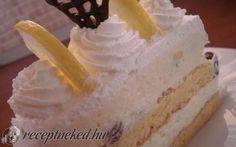 Narancsos oroszkrém szelet recept Boribonka konyhájából - Receptneked.hu Cheesecake, Cukor, Food, Cheesecakes, Essen, Meals, Yemek, Cherry Cheesecake Shooters, Eten