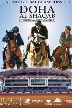 Coming up in #Doha, #Qatar, the Final of the Longines Global Champions Tour. #ShowJumping