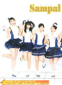 Weekly Manga Action 01.2013 JKT48   Ayana Shahab (Acchan)  Haruka Nakagawa (Harugon)  Jessica Veranda (Ve) (ジェシカ・ヴェランダ) (Vey) (ヴェイ)  Melody Nurramdhani Laksani (Melody)