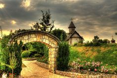 village from fairy tales Stanisic....Bosnia and Herzegovina...