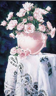 Art of Arleta Pech    ...beautiful lace!
