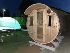 Diy Sauna, Indoor Outdoor, Shed, Outdoor Structures, Italy, Barns, Inside Outside, Sheds