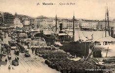 Quai du Port (de l'actuel Quai des Belges à l'Hôtel de Ville)