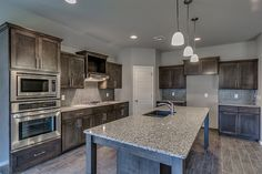 Simmons homes pierson kitchen large island gas cooktop for Kitchen ideas tulsa oklahoma