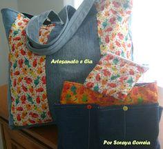 Artesanato e Cia : bolsas