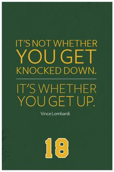 8 Best Vince Lombardi Quotes Images Sport Quotes Vince Lombardi