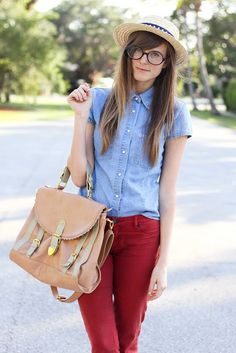 i have been looking for a chambray shirt like this for so long