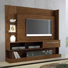 Estante Home Theater para TV até 60 Polegadas 1 Gaveta Elite Canyon - HB Móveis - Estantes no CasasBahia.com.br