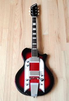 1962 Airline Town Country Vintage Electric Guitar Supro National Valco | eBay