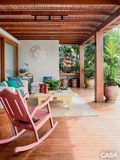 Pergola Ideas For Deck Key: 5643015878 Wood Pergola, Deck With Pergola, Pergola Ideas, Outdoor Chairs, Outdoor Furniture Sets, Outdoor Decor, Porch And Balcony, Piece A Vivre, Tropical Houses