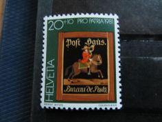Swiss stamp