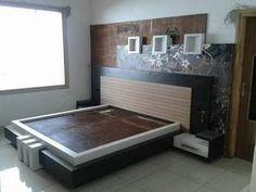 ideas for master bedroom furniture makeover curtains Bedroom Bed Design, Bedroom Furniture Design, Modern Bedroom Design, Furniture Layout, Contemporary Bedroom, Contemporary Design, Contemporary Building, Bad Room Design, Oak Bedroom