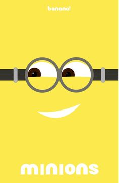 Minions (2015) ~ Minimal Movie Poster by Omar Montasser #amusementphile