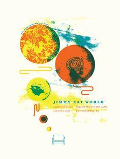 GigPosters.com - Jimmy Eat World - Royal Bangs