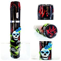 Day of the Dead – Laced Up Vapes  Very cool site that makes custom mods