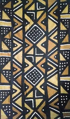 Mud Cloth From Mali Handwoven