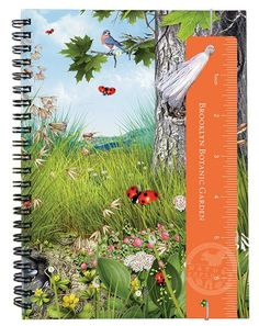 Give the kids in your life the gift of nature! This Nature Explorer Notebook with Ruler Bookmark, a companion to Brooklyn Botanic Garden's award-winning book, The Kids' Guide to Nature, will encourage the kids in your life to get out of the house and delve into the natural world.
