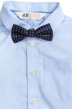 Shirt with bow tie/tie | H&M