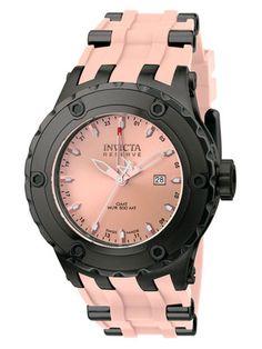 Invicta Watches Subaqua Gunmetal & Pink Watch