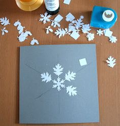 Mary & Patch: Last minute New Year's card DIY / Carte de voeux #cartenoel #christmascard