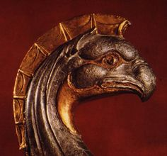 What a gorgeous gryphon head. Scythian