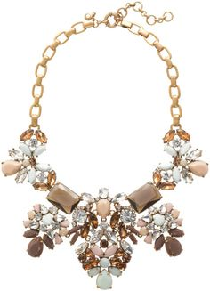 Love this: Floral Pastel Statement Necklace @Lyst