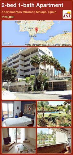 2-bed 1-bath Apartment in Apartamentos Miramar, Malaga, Spain ►€199,000 #PropertyForSaleInSpain