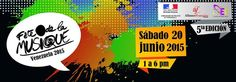 Cresta Metálica Producciones » La Fiesta de la Música Venezuela celebra su 5to aniversario