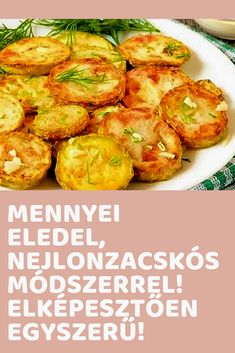 Crockpot Recipes, Cooking Recipes, Healthy Recipes, Hungarian Recipes, Zucchini, Food To Make, Side Dishes, Healthy Living, Paleo