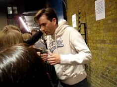 Much Ado - Stage Door - June 21 - David Tennant and Catherine Tate
