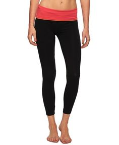 Contrast Waist Athletic Pant - StyleSays ....  Could always use some cute workout clothes...