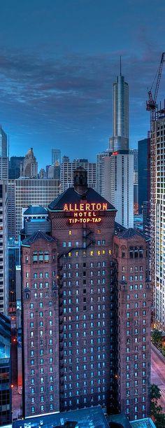 Allerton Hotel | Chicago Skyline