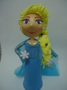 Elsa - Frozen - em EVA