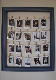 10 Cute Photo Decor Ideas for Your Dorm | Her Campus | http://www.hercampus.com/diy/decorating/10-cute-photo-decor-ideas-your-dorm
