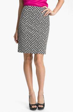 Halogen® Ponte Pencil Skirt | Nordstrom