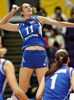 Ekaterina Gamova - Russian Olympic Volleyball