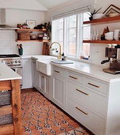 Stunning Modern Warm Kitchen Design Ideas in 2018 Corresponding Your Taste - Page 12 of 22 Warm Kitchen, New Kitchen, Kitchen Decor, Awesome Kitchen, Kitchen Ideas, Kitchen Centerpiece, Beautiful Kitchen, Centerpiece Ideas, Kitchen Colors