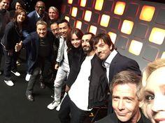 Rogue One cast selfie