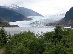 Juneau-Mendenhall Glacier  Alaska