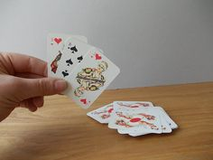 Vintage Playing Cards / Poker / Made in USSR / Paper by EUvintage
