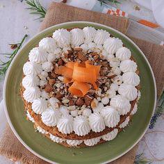 Bizcocho de las monjas [Mis Dulces Joyas] Sugar Free Carrot Cake, Chocolate Cheesecake, Bon Appetit, Oreo, Camembert Cheese, Carrots, Birthday Cake, Desserts, Food