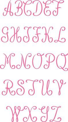 Tattoo Lettering Fonts, Hand Lettering Alphabet, Lettering Styles, Calligraphy Fonts, Calligraphy Alphabet, Fancy Fonts Alphabet, Graffiti Alphabet, Islamic Calligraphy, Cricut Monogram Font