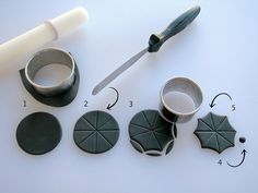 Cutting and Shaping Umbrella Top