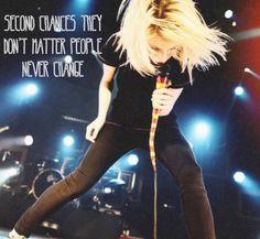 Paramore: Hayley Williams on Pinterest | Hayley Williams ... Paramore Misery Business Lyrics