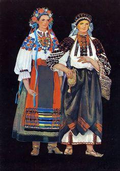 Красота, вдохновленная природой - Традиционная одежда Украинских областей