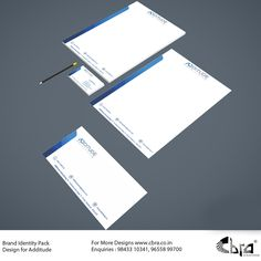 Brand Identity Pack Designed for Additude.