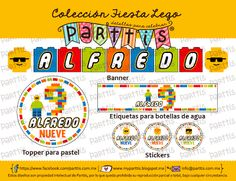 Diseño y creativas ideas para una Fiesta de Lego :: Lego party design and creative ideas